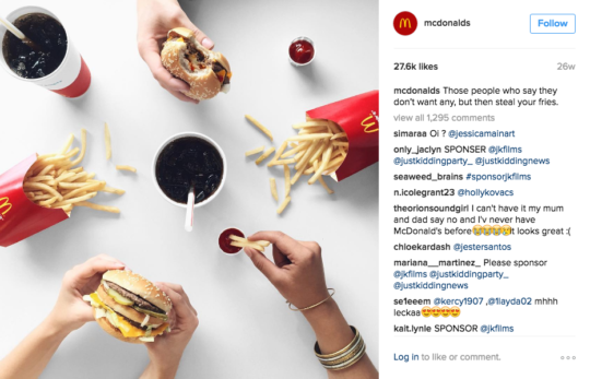 mcdonald s marketing stratiges and the fast food industry marketing essay Mcdonalds is a fast food chain with restaurants all over the world mcdonalds is world's leading food service retailer with more than 31,000 restaurants in 119 countries serving more than 50 million customers each day.