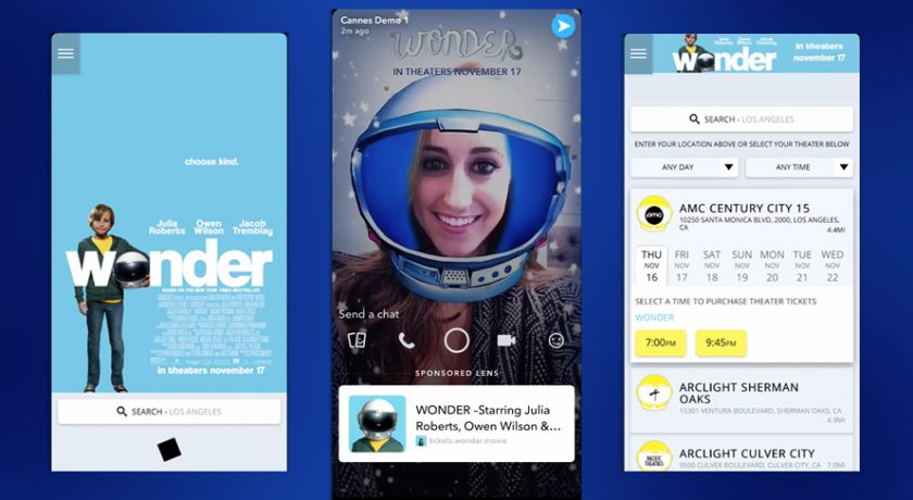 Advertisers Can Now Add Website Links To Snapchat Lenses